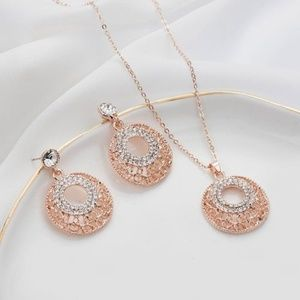 Jewelry - On Sale New jewelry necklace and earring set